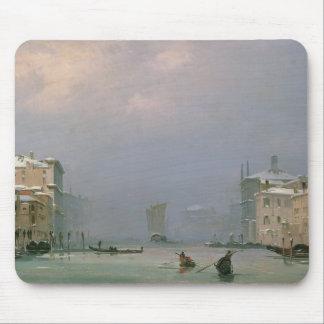 Grand Canal with Snow and Ice, 1849 Mouse Mat