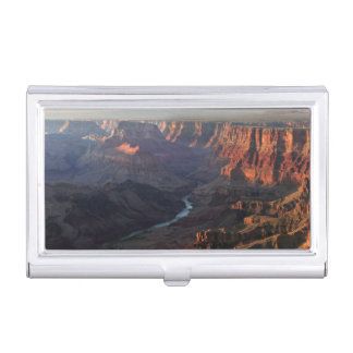 Grand Canyon and Colorado River in Arizona Business Card Holder