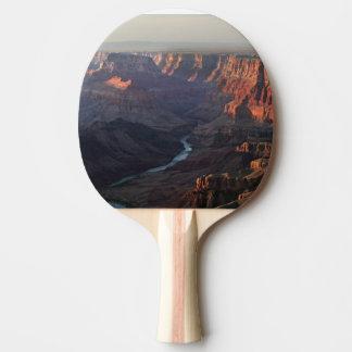 Grand Canyon and Colorado River in Arizona Ping Pong Paddle