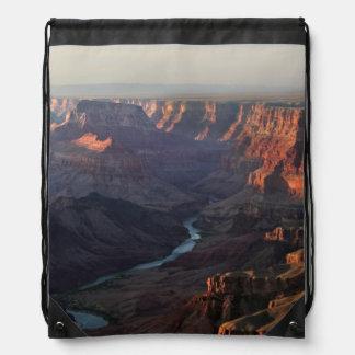 Grand Canyon and Colorado River in Arizona Drawstring Bag