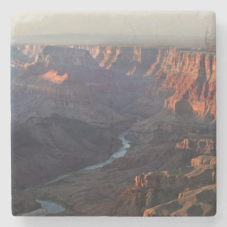 Grand Canyon and Colorado River in Arizona Stone Coaster