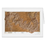 Grand Canyon and Vicinity Map 1962 Card