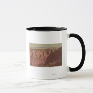 Grand Canyon, Arizona - Sunset on the Painted Mug