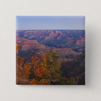 Grand Canyon at sunrise, Arizona 15 Cm Square Badge