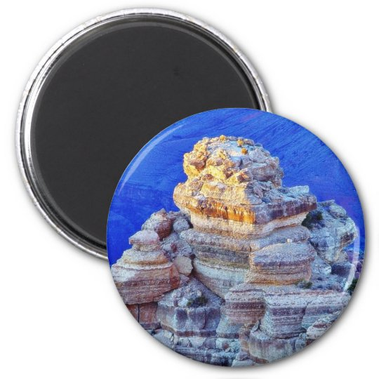 Grand Canyon At Sunset 6 Cm Round Magnet