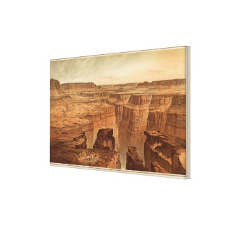 Grand Canyon at the foot of the Toroweap Canvas Print