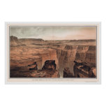 Grand Canyon at the Foot of Toroweap 1882 Poster