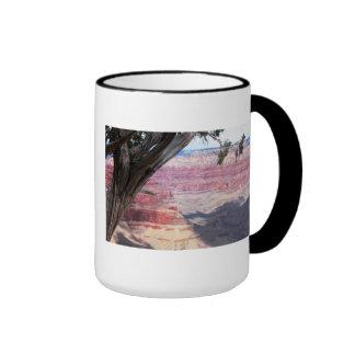Grand Canyon Beyond The Tree Coffee Mugs