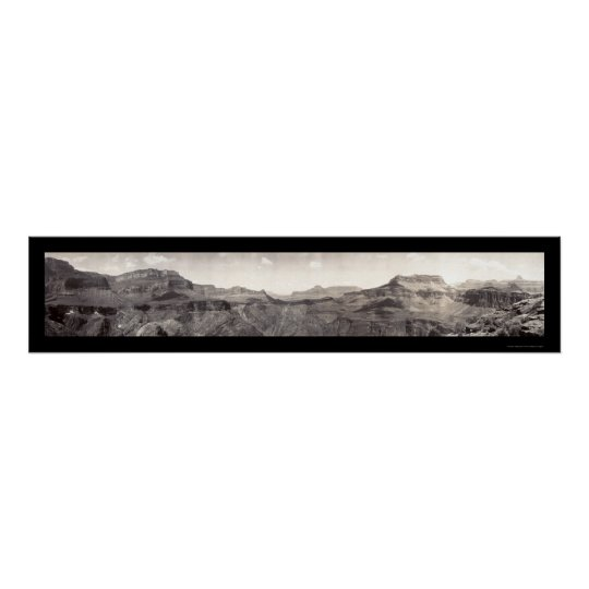 Grand Canyon Colorado Photo 1909 Poster