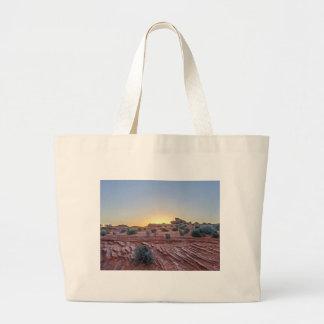 Grand Canyon desert in Arizona Large Tote Bag