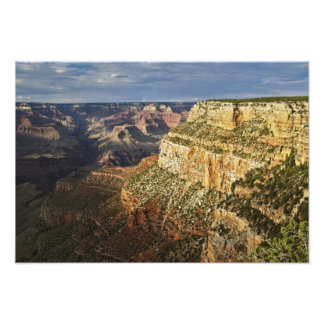 Grand Canyon from the south rim at sunset, 2 Art Photo
