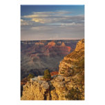 Grand Canyon from the south rim at sunset, 2 Photo Print