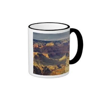 Grand Canyon from the south rim at sunset, Ringer Mug