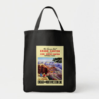 Grand Canyon Grocery Tote Bag