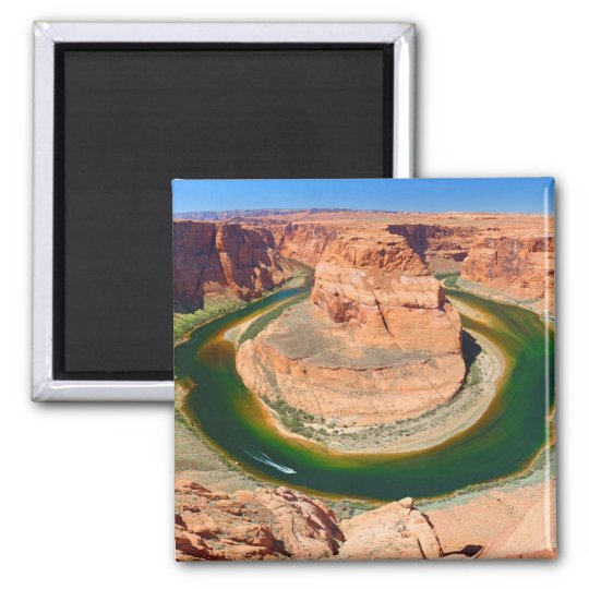 Grand Canyon Horse Shoe Bend Square Magnet