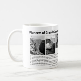 Grand Canyon I - Geology Pioneers Coffee Mug