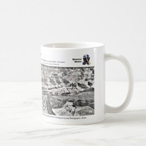 Grand Canyon II - Geology Pioneers Basic White Mug