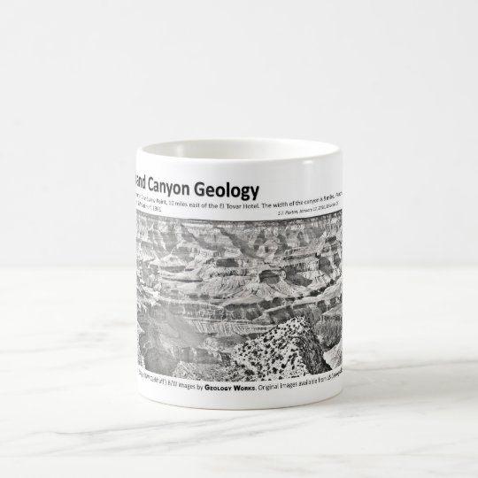 Grand Canyon II - Geology Pioneers Coffee Mug