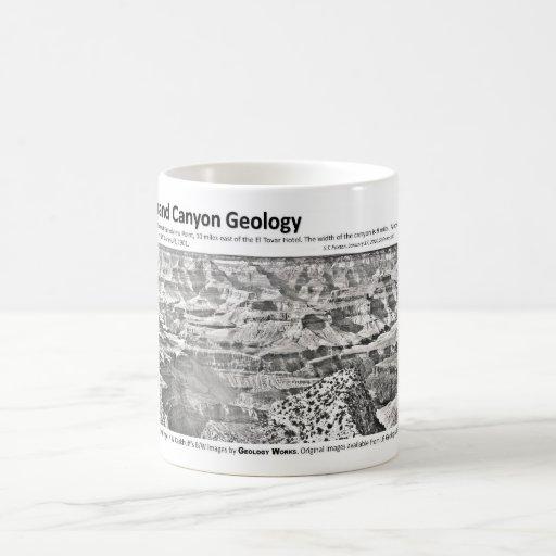 Grand Canyon II - Geology Pioneers Classic White Coffee Mug