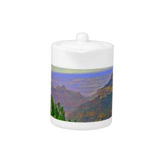 Grand Canyon in Cartoon Tea Pot