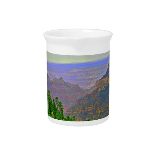 Grand Canyon in Cartoon Water Pitcher