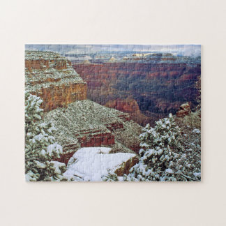 Grand Canyon in Winter Jigsaw Puzzle