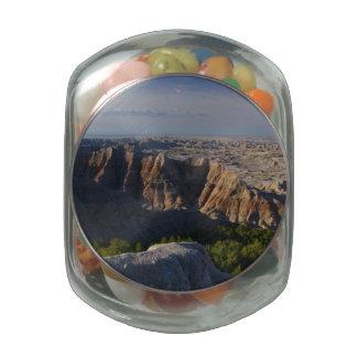 Grand Canyon Landscape Glass Candy Jars