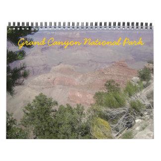 Grand Canyon National Park 2012 Calendar