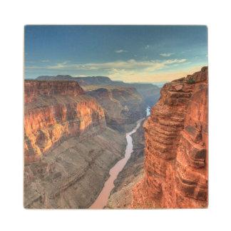 Grand Canyon National Park 3 Wood Coaster