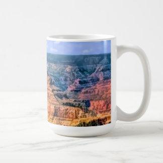 Grand Canyon National Park Arizona Basic White Mug