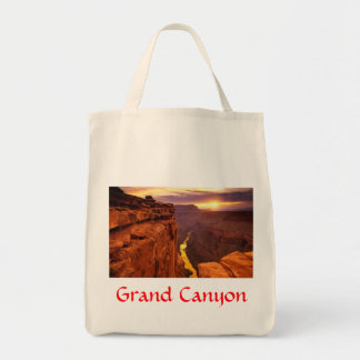 Grand Canyon National Park Arizona Grocery Tote Canvas Bags