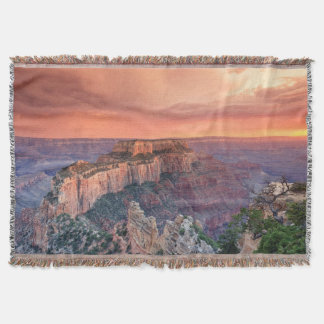 Grand Canyon National Park, Arizona Throw Blanket