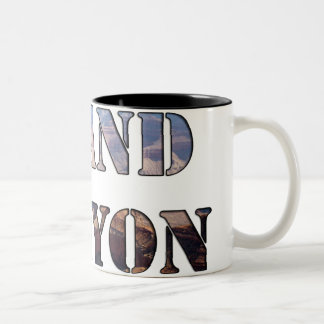 Grand Canyon National Park Arizona Two-Tone Coffee Mug