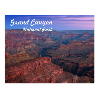 Grand Canyon National Park at Sunrise Postcard