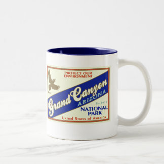 Grand Canyon National Park (Raven) Coffee Mugs