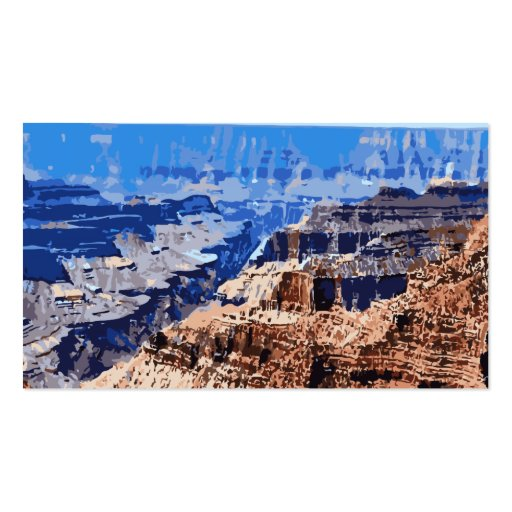 Grand Canyon National Park Retro Design Business Card Templates