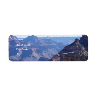 Grand Canyon National Park, South Rim Return Address Label