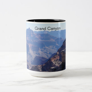 Grand Canyon National Park, South Rim Two-Tone Coffee Mug
