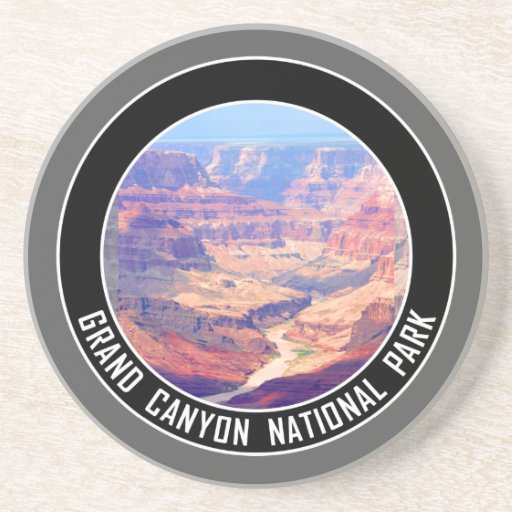 Grand Canyon National Park Souvenir Drink Coasters