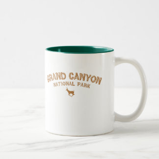 Grand Canyon National Park Two-Tone Coffee Mug