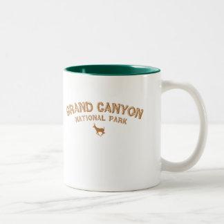 Grand Canyon National Park Two-Tone Mug