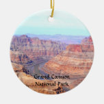Grand Canyon National Park West Rim Landscape Round Ceramic Decoration