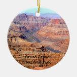 Grand Canyon National Park West Rim Round Ceramic Decoration
