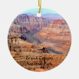 Grand Canyon National Park West Rim Round Ceramic Decoration