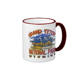 Grand Canyon National Park, Wyoming Coffee Mugs