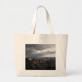 Grand Canyon North Rim Rainbow Tote Bags