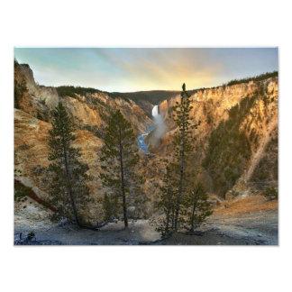 Grand Canyon of Yellowstone, Yellowstone Photo Print