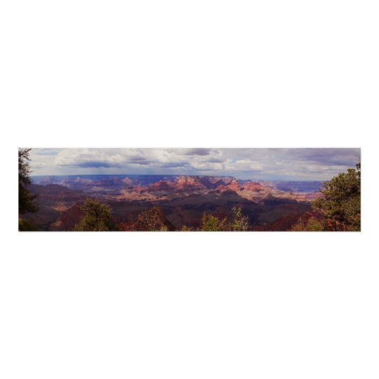 Grand Canyon Panoramic View Poster