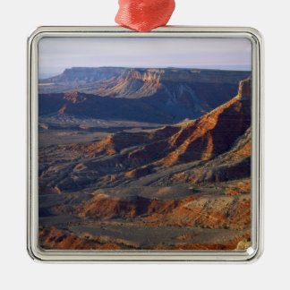 Grand Canyon-Parashant National Monument, Silver-Colored Square Decoration