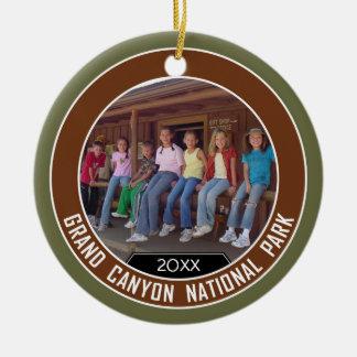 Grand Canyon PHOTO FRAME Souvenir Christmas Ornament